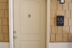 930 Flats front door