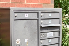 930 Flats secure mail area